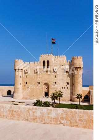 Citadel of Qaitbay fortress, Alexandria, Egypt 49996605