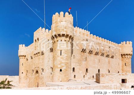 Citadel of Qaitbay fortress, Alexandria, Egypt 49996607