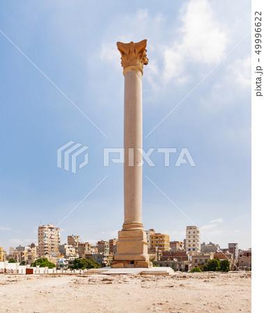 Pompey's Pillar, Alexandria, Egypt. 49996622