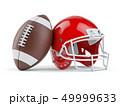 アメリカンフットボール サッカー フットボールのイラスト 49999633