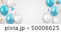 バルーン 風船 デコレーションのイラスト 50006625