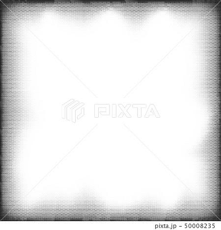 Halftone grunge pop art frame 50008235