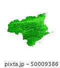徳島県地図と市町村境界 50009386