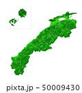 島根県地図と市町村境界 50009430