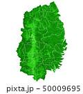 岩手県地図 岩手県 岩手のイラスト 50009695