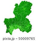 岐阜県地図と市町村境界 50009765
