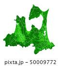 青森県地図と市町村境界 50009772