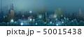 都市景観 スカイライン バックグラウンドのイラスト 50015438