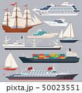 船 クルーズ 航行のイラスト 50023551