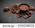 ショコラ チョコレート クリームの写真 50029658