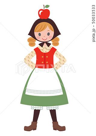 民族衣装の女の子1 50033533