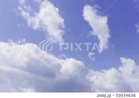 青空 空 雲 背景 背景素材 50034638