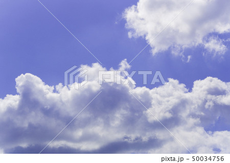 青空 空 雲 背景 背景素材 50034756