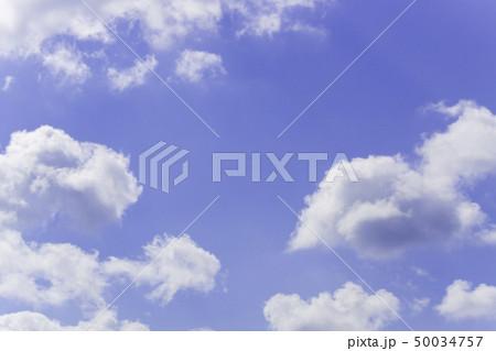 青空 空 雲 背景 背景素材 50034757