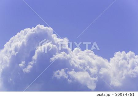 青空 空 雲 背景 背景素材 50034761