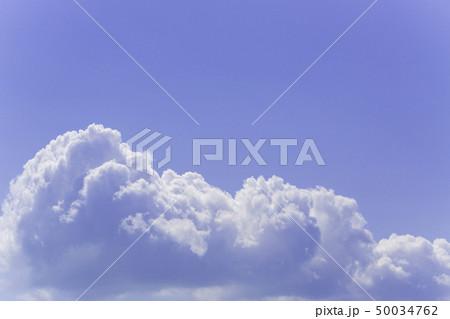 青空 空 雲 背景 背景素材 50034762