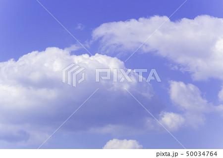 青空 空 雲 背景 背景素材 50034764