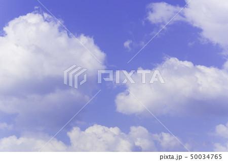 青空 空 雲 背景 背景素材 50034765