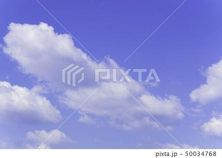 青空 空 雲 背景 背景素材 50034768