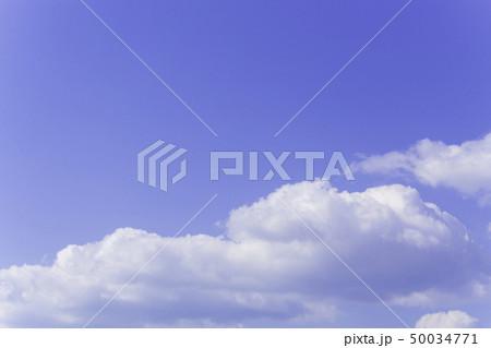 青空 空 雲 背景 背景素材 50034771
