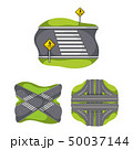 道 号線 ルートのイラスト 50037144