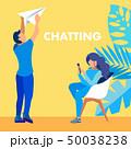 Chatting, Email Communication Social Media Banner 50038238