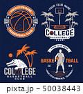 シャツ Yシャツ バスケのイラスト 50038443