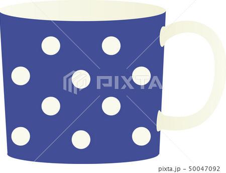 ドット柄のマグカップ 50047092