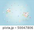ブーケ ウェディング カラフルのイラスト 50047806