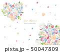 ブーケ ウェディング カラフルのイラスト 50047809