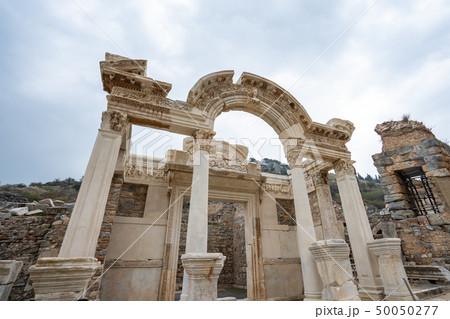 Ephesus the ancient Greek city in Selcuk, Izmir 50050277
