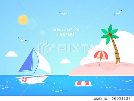 夏 海 バカンス 50051187