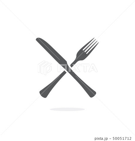 Fork and Knife icon vector 50051712