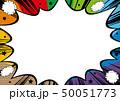 コピースペース フレーム 吹出しのイラスト 50051773