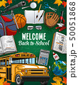 Back welcome to school invitation and study tools 50051868