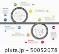 ロード インフォグラフィック 小道のイラスト 50052078