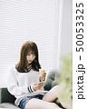 女性 アジア人 ニットの写真 50053325