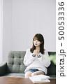 女性 アジア人 本の写真 50053336