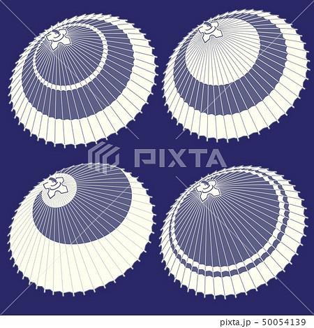 日本の伝統的な傘のイラスト, 50054139