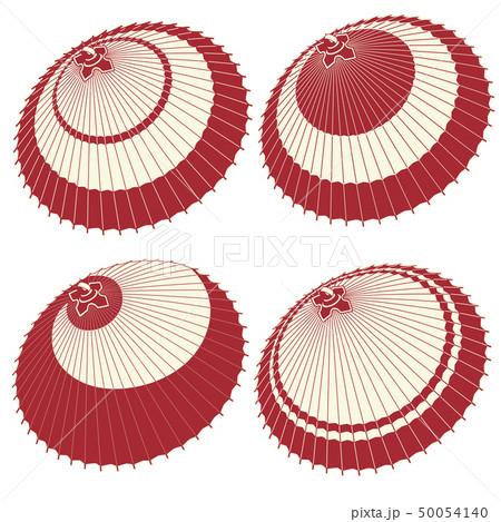 日本の伝統的な傘のイラスト, 50054140