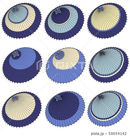日本の伝統的な傘のイラスト, 50054142