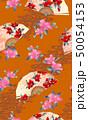 扇子 扇 花のイラスト 50054153
