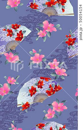 花扇子の柄, 50054154