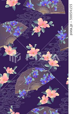 花扇子の柄, 50054155