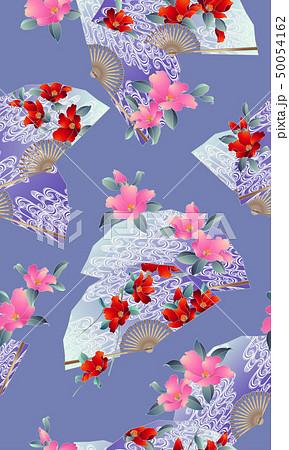 花扇子の柄, 50054162