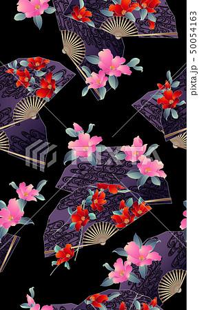 花扇子の柄, 50054163