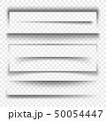 陰影 枠 日陰のイラスト 50054447