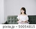 女性 アジア人 本の写真 50054815