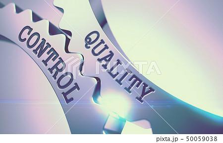 Quality Control - Mechanism of Metallic Cogwheels . 3D . 50059038