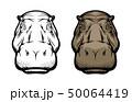 かば カバ 動物のイラスト 50064419